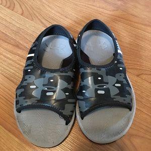 Camo Under Armour Sandals